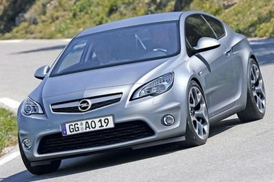 Opel Insignia Coupe in the works