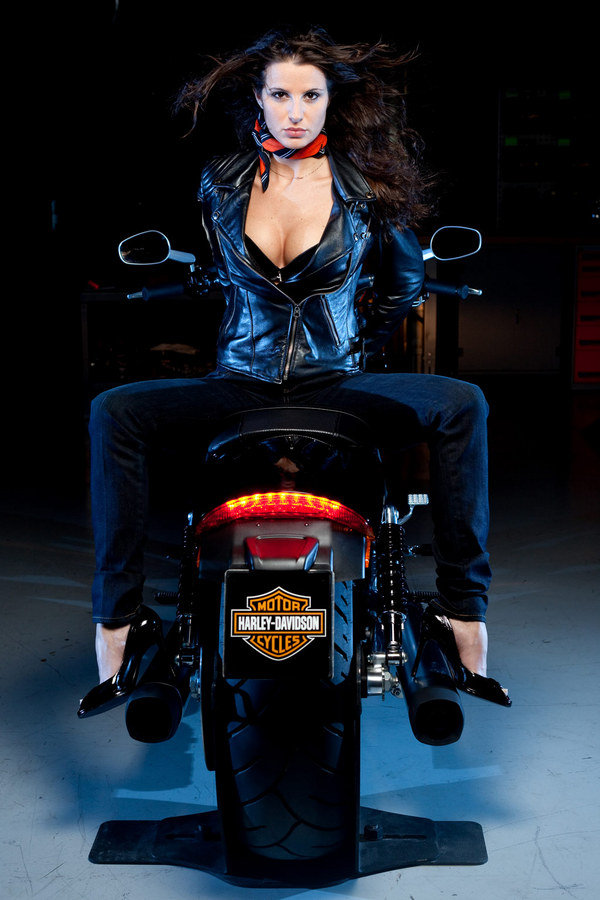 Victory Motorcycle Parts >> Playboy Bunnies And Harley-Davidson Bikes Go Perfectly ...