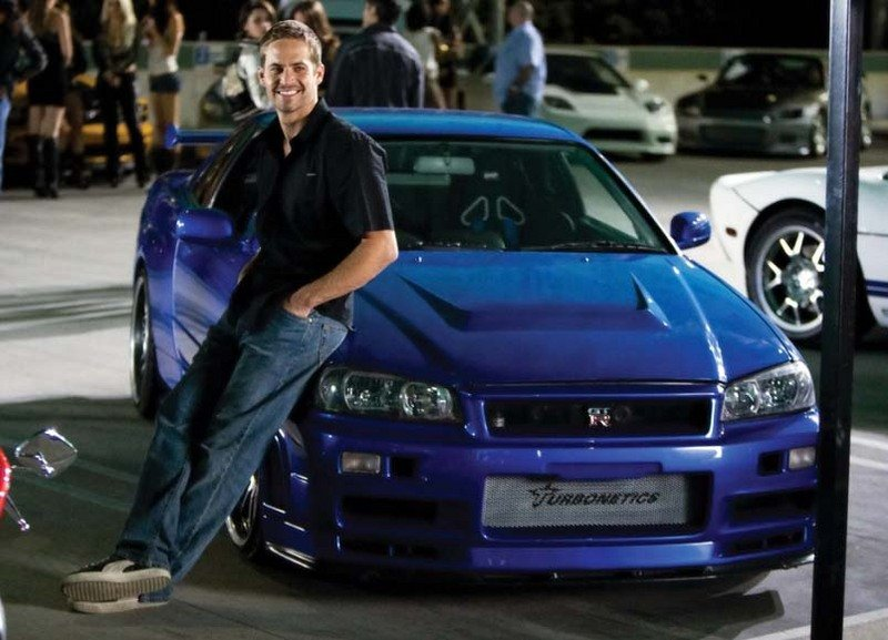 Fast And Furious R34 Nissan Skyline GT-R Stolen