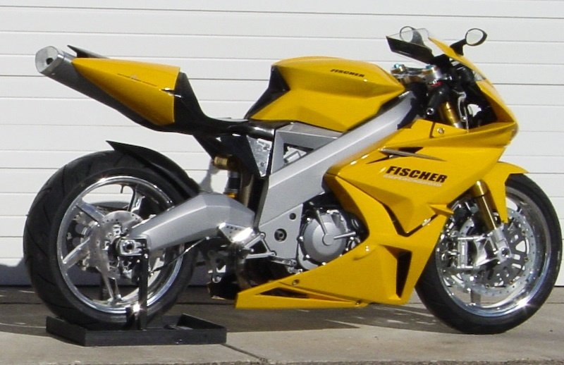 The first Fischer MRX American Sportbike arrives to customer