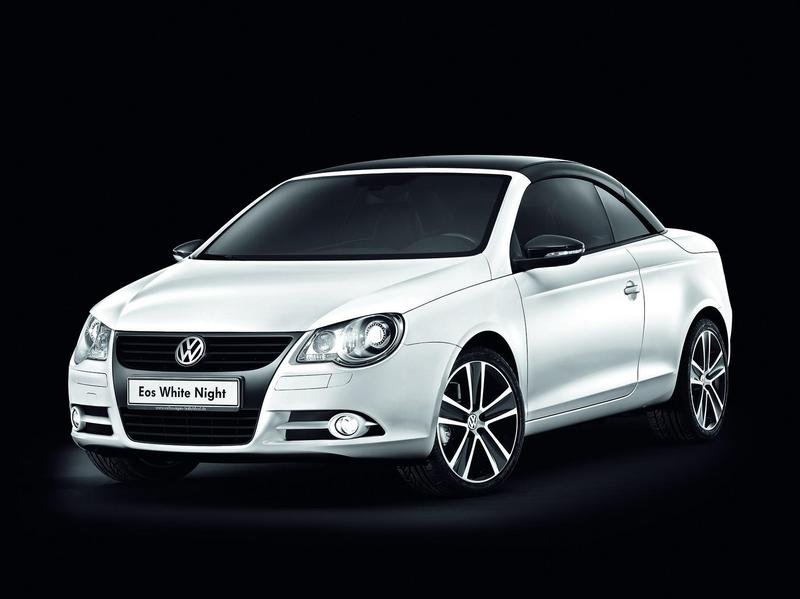 2009 Volkwagen Eos White Night