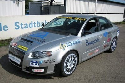 World Record: Bio-gas Audi A4 hits 226.55 MPH