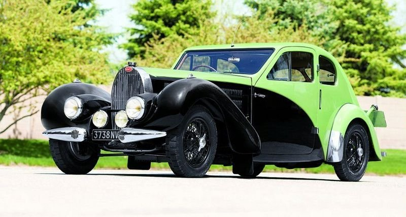1936 Bugatti Type 57C Coupe up for auction; believed to smash all the sales records