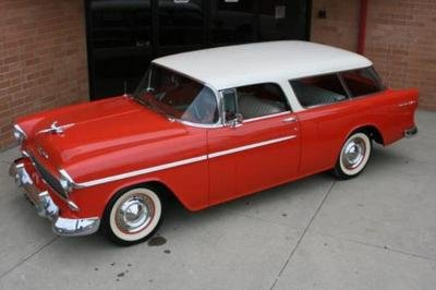 1955 Chevrolet Nomad Wagon @ Russo and Steele