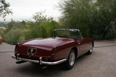 1960 Ferrari 250 GT Pinnin Farina Series II Cabriolet @ Russo and Steele