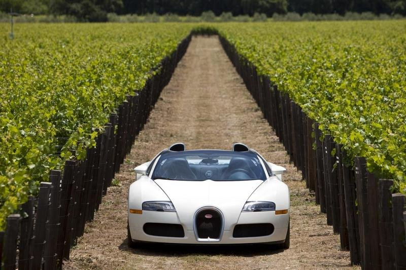 Wallpaper of the Day: 2009 – 2012 Bugatti Veyron Grand Sport