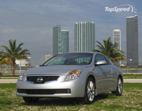 Nissan Altima 2009 Coupe. nissan altima coupe 3.5 se