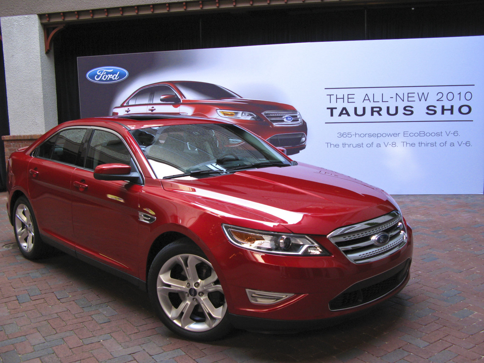 2010 ford taurus sho picture 306378 car review top speed. Black Bedroom Furniture Sets. Home Design Ideas