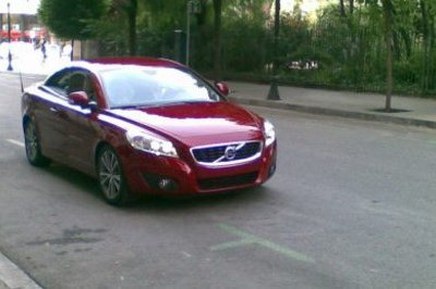 2011 Volvo C70 caught unmasked