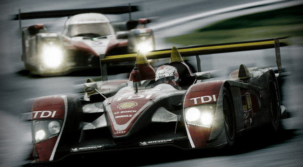 24 hours of le mans peugeot on pole with audi not far behind picture