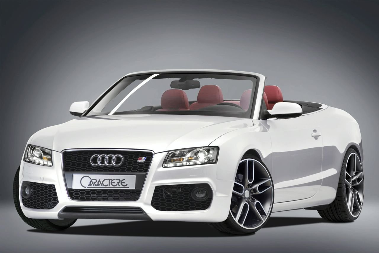 audi a5 convertible by caractere picture 304880 car news top speed. Black Bedroom Furniture Sets. Home Design Ideas