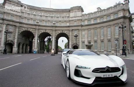 citroen gt recreates the london street circuit