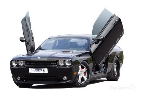 Dodge Challenger Black Rims. dodge challenger by kw picture