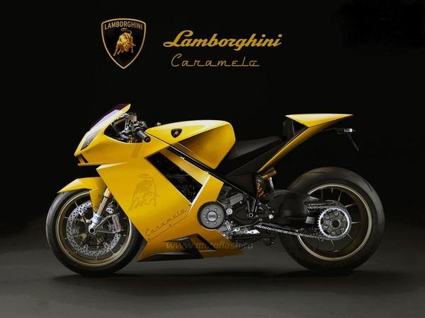 High Concept Lamborghini Caramelo V4 Superbike Motorcycle News Top Speed