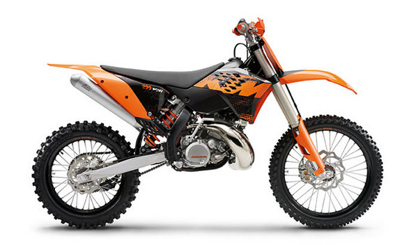 2009 KTM 200 XC-W | motorcycle review @ Top Speed