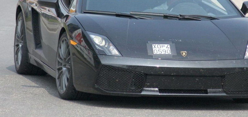 Superbe Lamborghini Gallardo LP550 2 Spied Testing