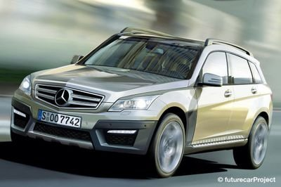 Rendering: Mercedes BLK compact crossover