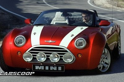 MINI Roadster set to debut at the Frankfurt Auto Show