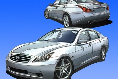 Next Infiniti M rendered