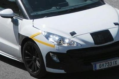 Peugeot 308 RC-Z - best spy shots ever