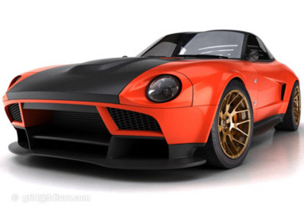 Grid Is Back With A Modern Take On The Classic Datsun 240z