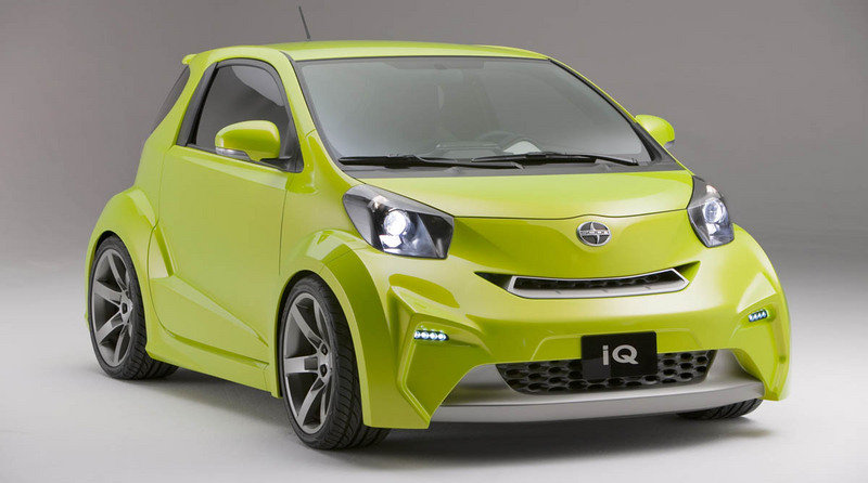 Scion iQ will make it to USA by 2011