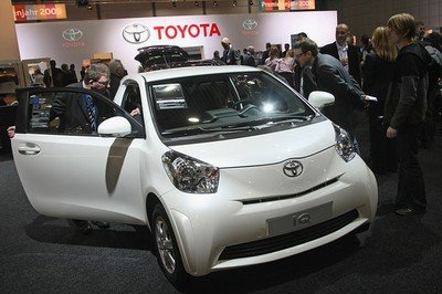 Aston Martin will sell the Toyota iQ in Europe as the Cygnet