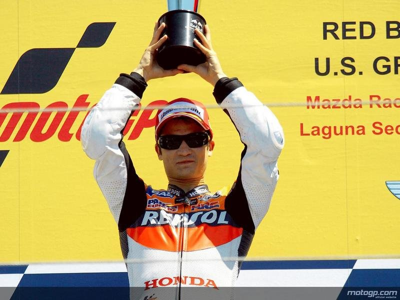 2009 MotoGP Race Report: Pedrosa wins at Laguna Seca