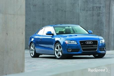 Audi A5 Coupe 2010. A5 coupe model year 2010