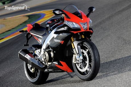 2009 Aprilia RSV 1000 R Factory Wallpaper