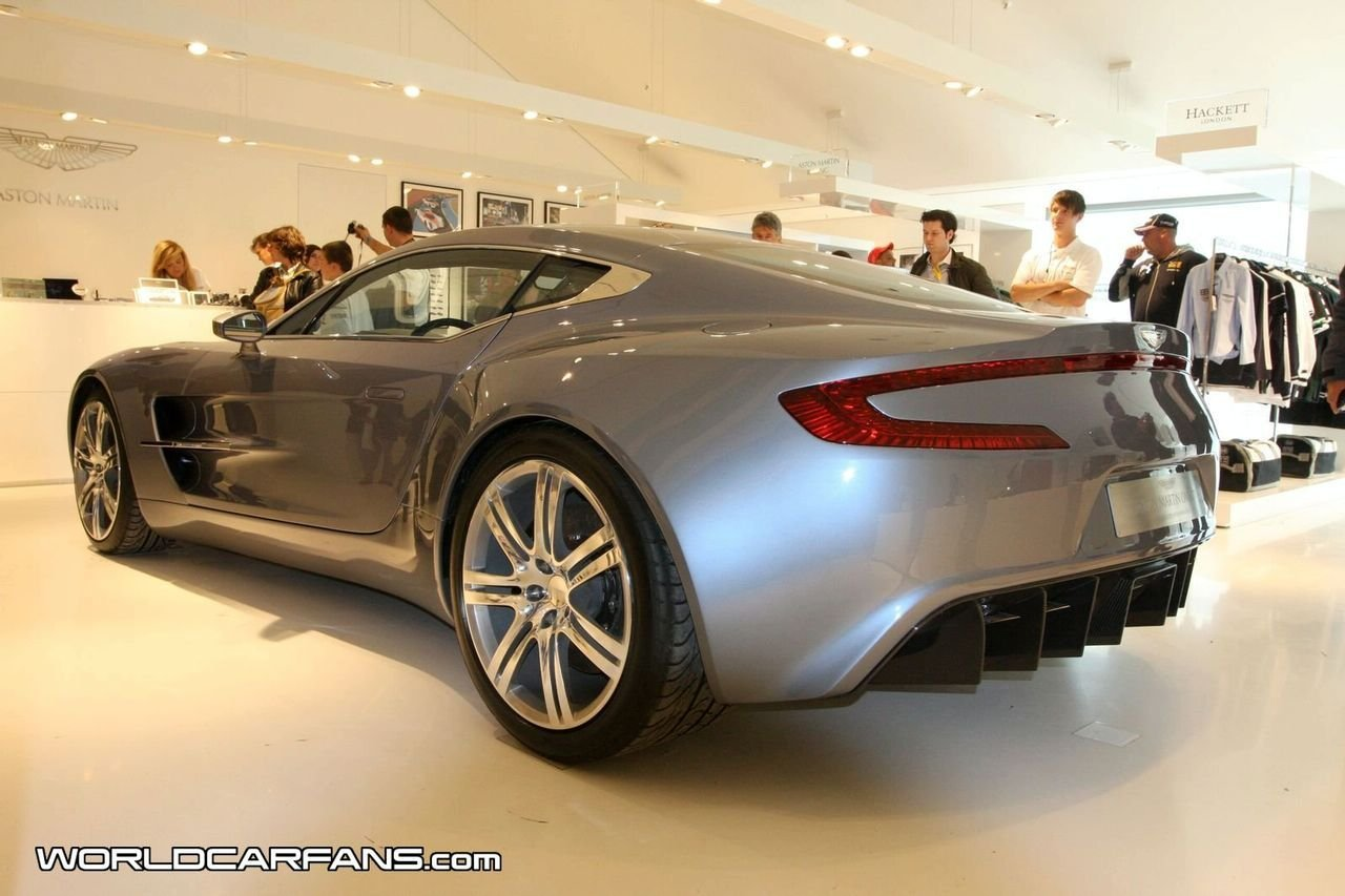 aston martin one 77 super car on display at the coach builder 39 s nurburgring store picture. Black Bedroom Furniture Sets. Home Design Ideas