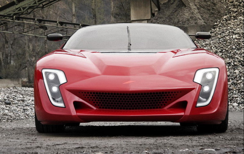 Bertone Mantide to smash Corvette ZR1's Nurburgring lap time