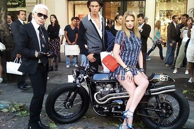 A sense of style: the Chanel Motorcycle