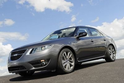 First official images of the new 9-5 from SAAB