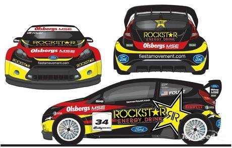 The new Fiesta Rallycross cars have already created plenty of buzz in the
