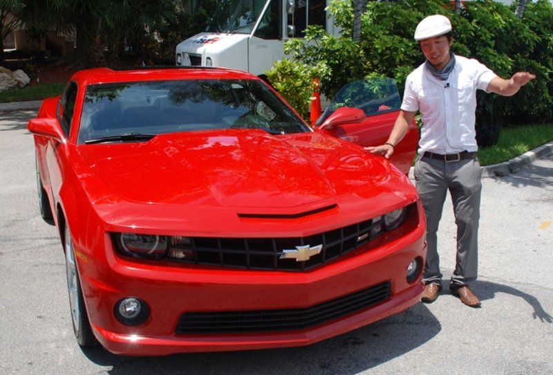 Chevrolet's 2010 Camaro sits atop the Pony Car Sales Charts