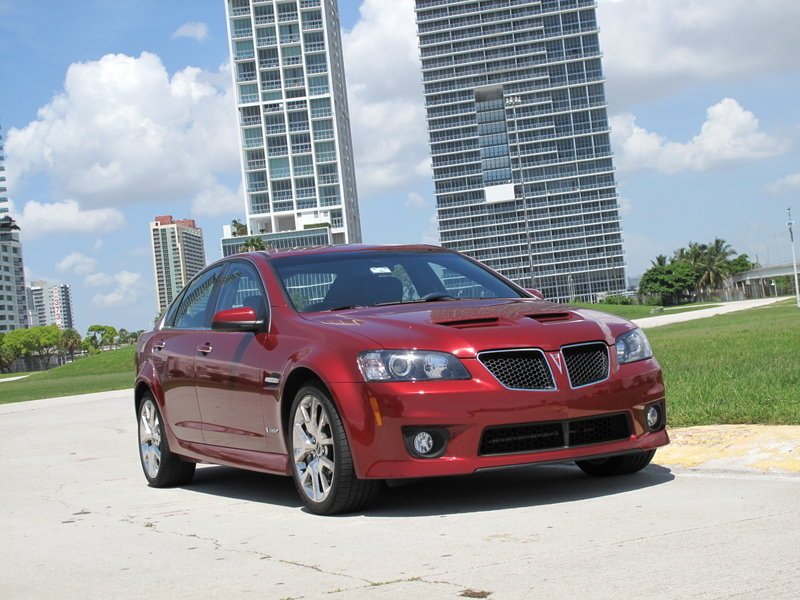 Initial thoughts: Pontiac G8 GXP