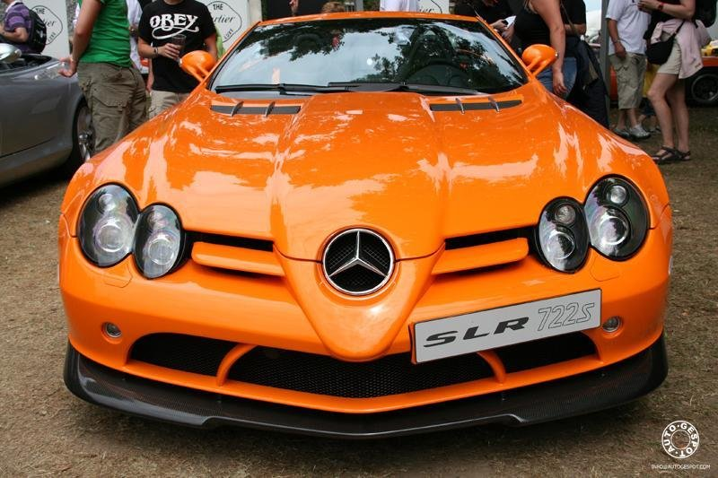 Last Mercedes SLR McLaren at the Goodwood