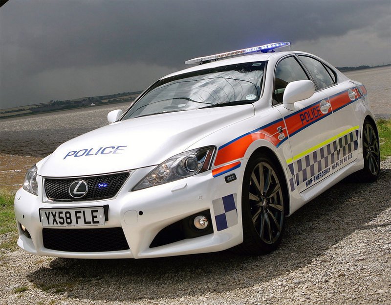 2009 Lexus IS-F police car - image 312620