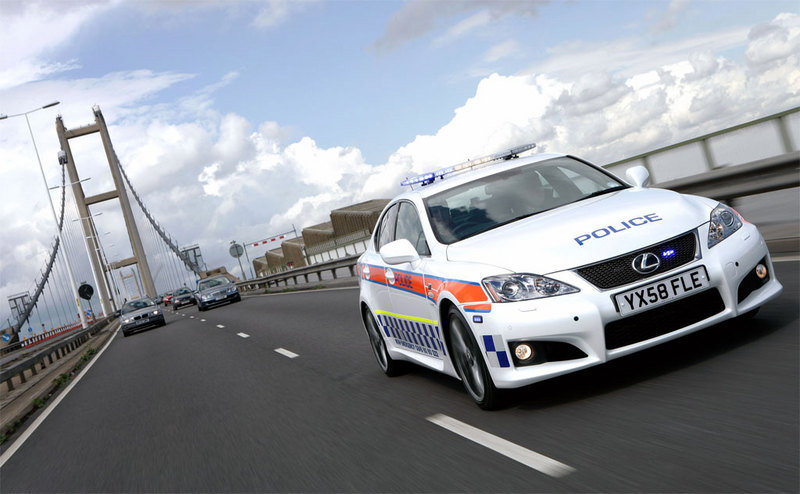 2009 Lexus IS-F police car - image 312621