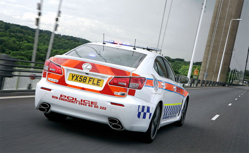 2009 Lexus IS-F police car - image 312624