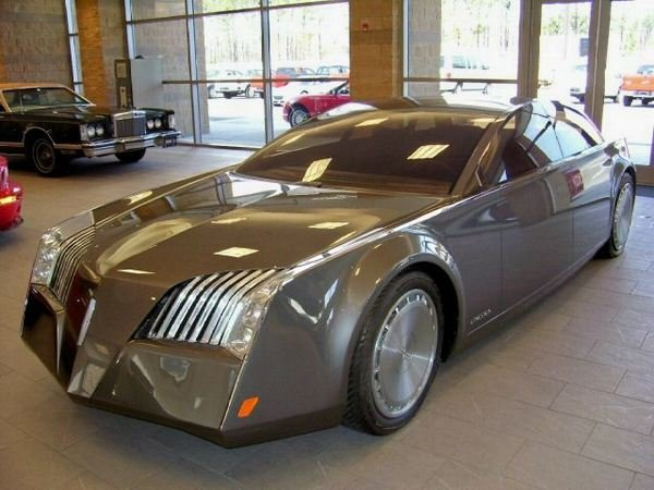 lincoln sentinel concept car for sale on ebay picture
