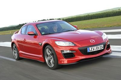 Mazda will bring facelift RX-8 to Frankfurt