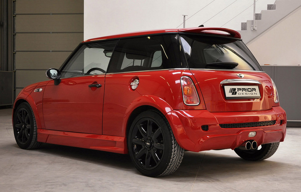 mini cooper s by prior design picture 313401 car news top speed. Black Bedroom Furniture Sets. Home Design Ideas