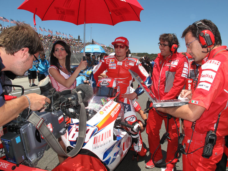 MotoGP Grid gallery at Mazda Raceways