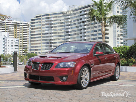 The Pontiac G8 GXP is a tremendous performance bargain, built with the best