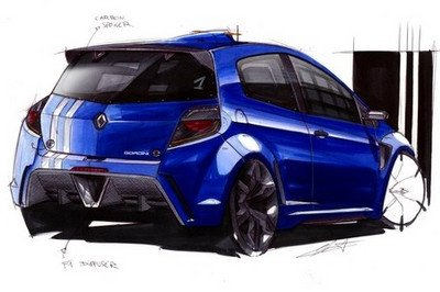Renault Clio RS Gordini - will it look like this?