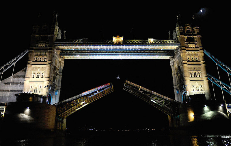 Tower Bridge backflip by Robbie Maddison