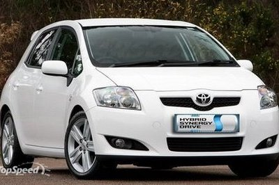 Toyota Auris hybrid to be produced in the U.K.