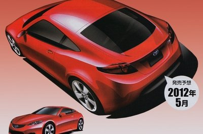 2012 Toyota MR-2 Sports Coupe based on the Prius hybrid in the works?